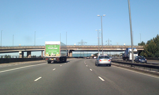 M6 North through junction 6