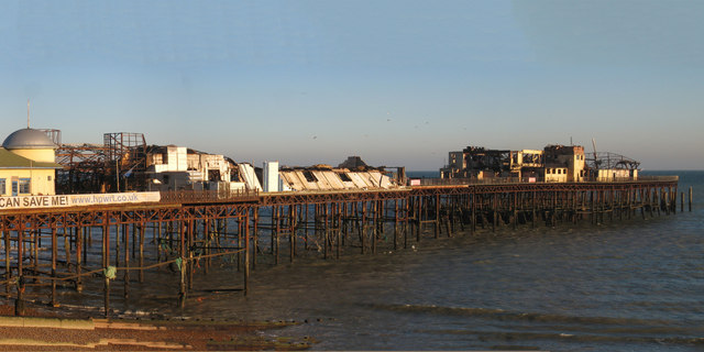 Ruins of Hastings Pier