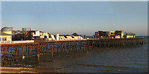 TQ8109 : Ruins of Hastings Pier by Oast House Archive