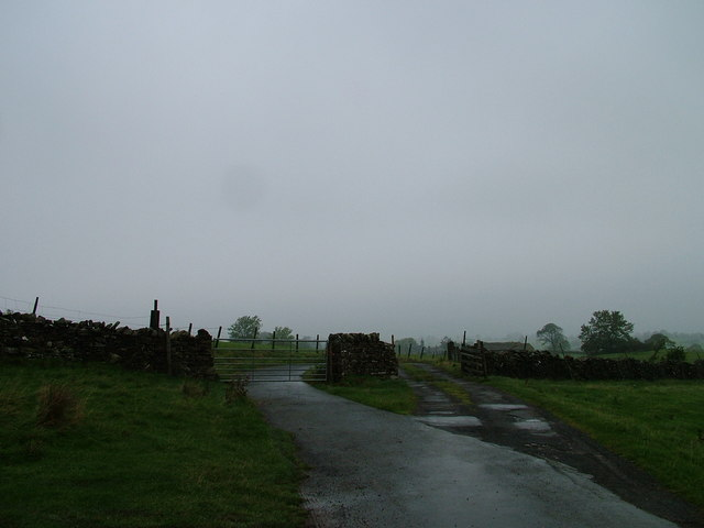 Cattle grid and gate, Stainmore