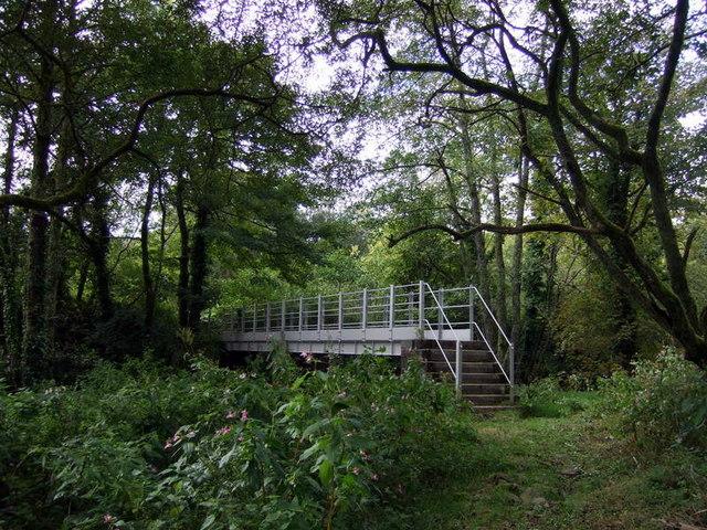 Footbridge over Cleddau