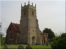 TM2743 : Newbourne St Mary's church by Adrian S Pye