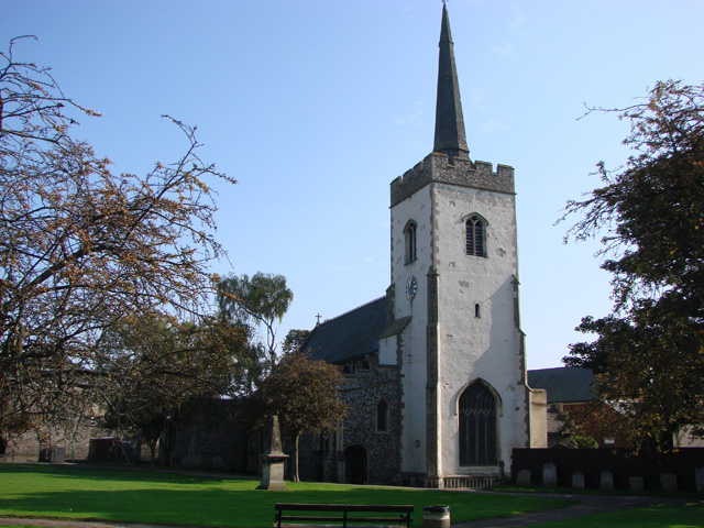 Newmarket St Mary's church