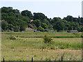 TM4698 : Remains of Haddiscoe swing bridge by Glen Denny