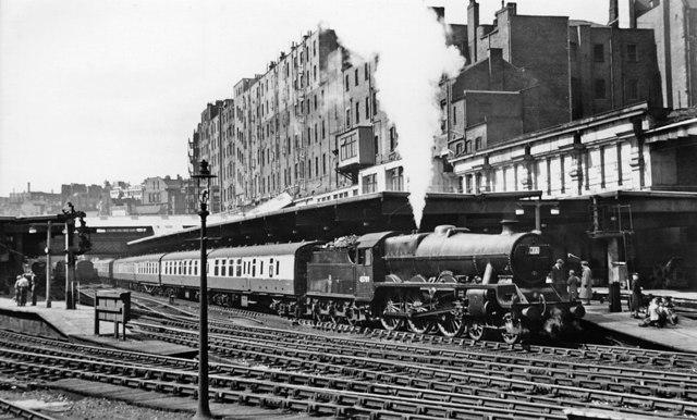 Express to Euston at Birmingham New Street