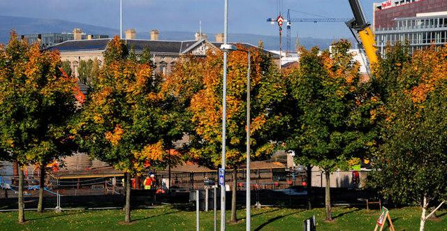 Laganside autumn, Belfast