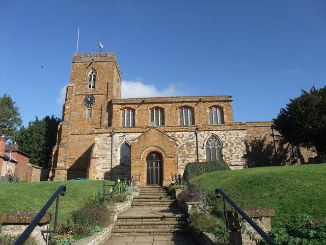 Church of All Saints, West Haddon