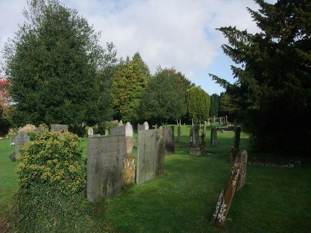 Graveyard, All Saints Church, West Haddon