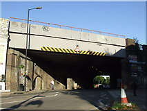 TQ3379 : Railway bridge, Abbey Street by Malc McDonald