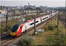 TQ2182 : Virgin at Willesden Junction by Martin Addison
