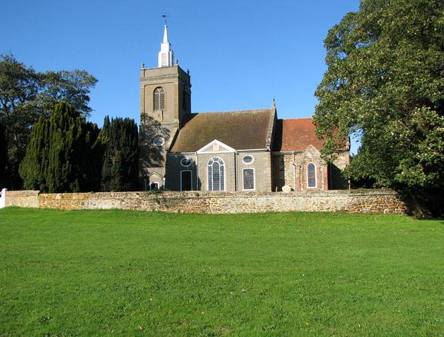 All Saints' church in North Runcton