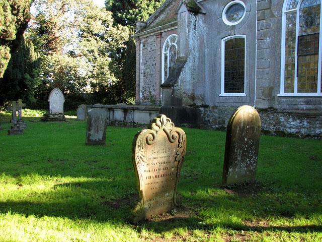 All Saints' church in North Runcton - churchyard