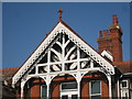 TQ5509 : St Bede's School roof detail by Oast House Archive