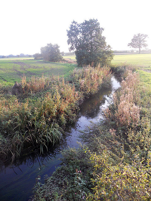 River Penk - south of Coven bridge