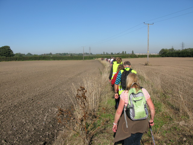 Walkers on parish 'Beat the Bounds'