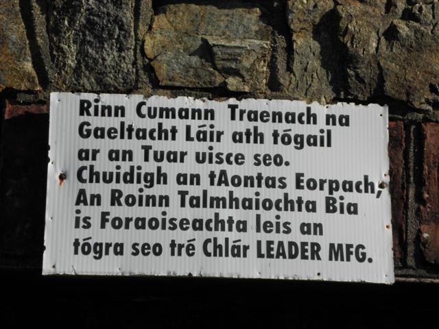 Notice, Comhlacht Traenach na Gaeltachta Lair