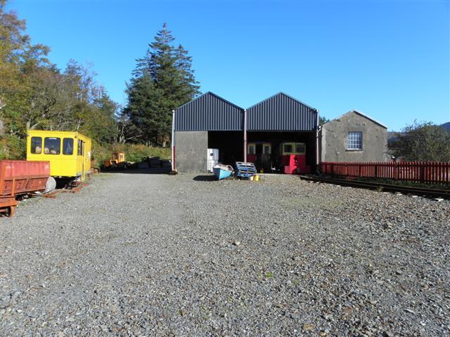 Railway buildings, Fintown
