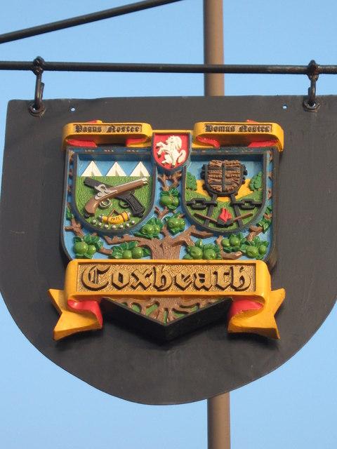 Coxheath Village Sign 169 David Anstiss Geograph Britain