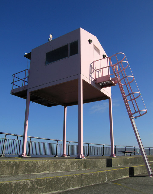 The Pink Hut, Cardiff Bay