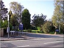 SD5308 : Entrance to Gathurst Golf Club on Miles Lane by Raymond Knapman