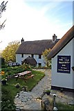 SS2317 : The Old Smithy Inn, Welcombe by Paul Buckingham