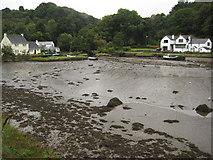 SW7724 : Gillan Creek by Philip Halling
