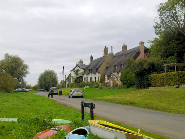 Houses on Holywell Front, Needingworth