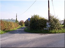SD5214 : Town Lane joins Barmskin Lane at Andertons Mill by Raymond Knapman