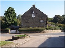 SD5208 : Gable end of medieval stone cottage at Holland Lees by Raymond Knapman