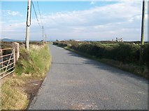 SH2428 : The Rhiw-Seithbont road east of the Treheli crossroads by Eric Jones