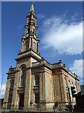 NS2776 : Westburn Church Greenock by Robert Currie