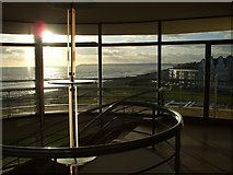 TQ7407 : Top of the staircase, De la Warr Pavilion, Bexhill by nick macneill