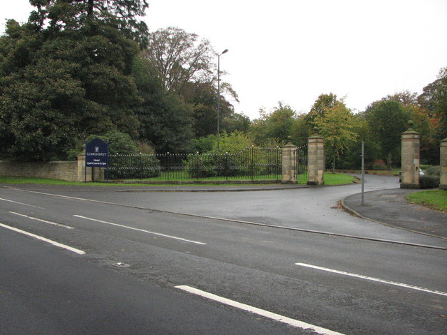 Entrance to Longhirst Hall