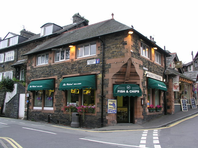 Ambleside, Walnut Fish Bar