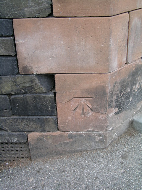 Ambleside, Vicarage Road cut bench mark