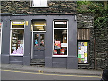 NY3704 : Ambleside, Lake Road chemist's shop by Brian Westlake