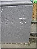 NY3704 : Ambleside, Lake Road chemist's shop, cut bench mark by Brian Westlake