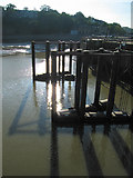 ST1972 : Part of the Cardiff Bay Barrage by Dave Croker