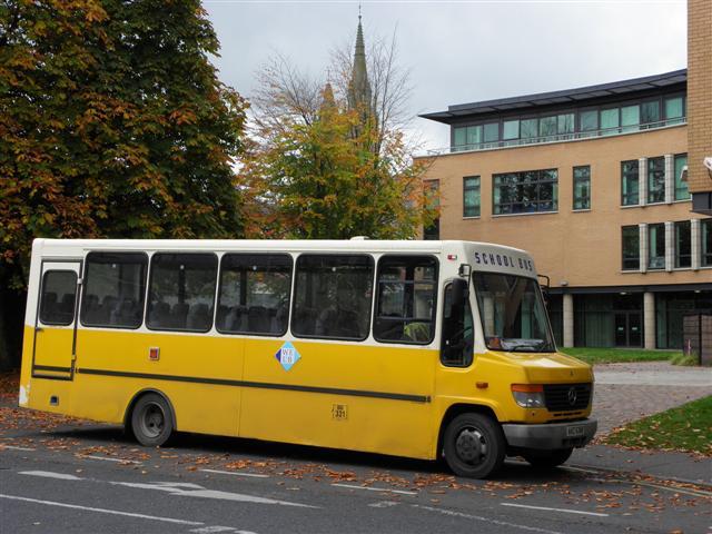 Western Education & Library School Bus © Kenneth Allen cc ...