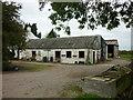 SE7932 : Farm buildings down Sleights Lane by Ian S