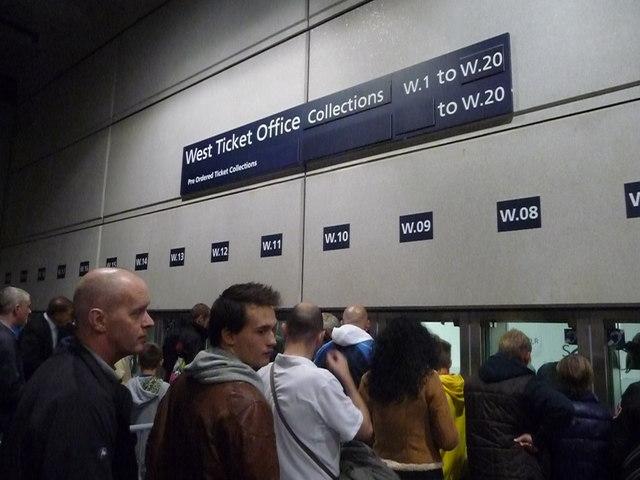 London : Wembley - West Ticket Office