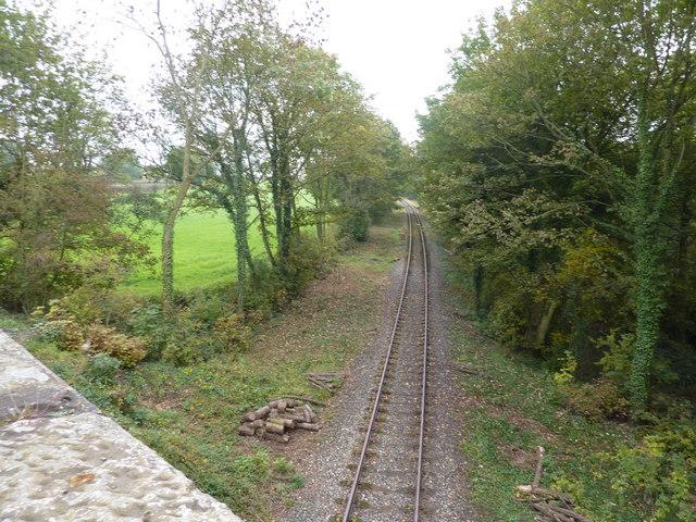 Railway line, near Idridgehay