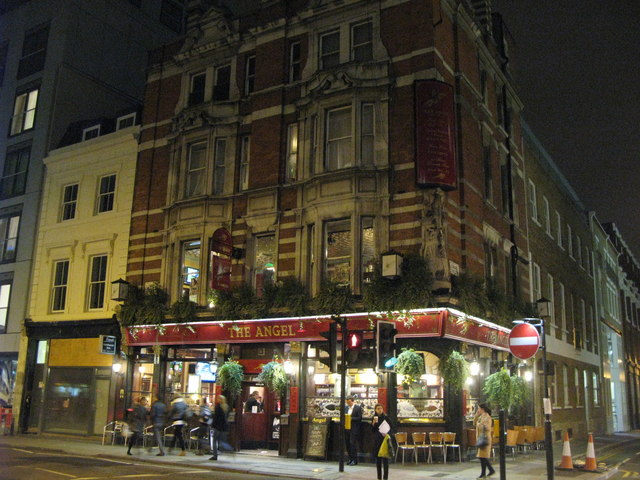 The Angel, City Road, EC1