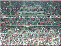 TQ1985 : London : Wembley - Stadium Crowds by Lewis Clarke