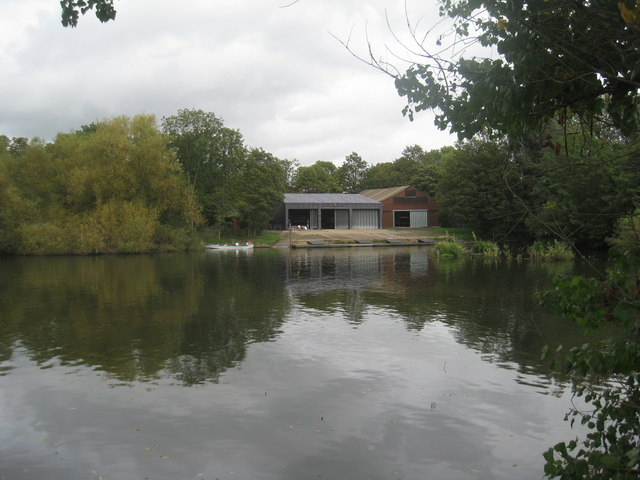 Boathouse on the Thames
