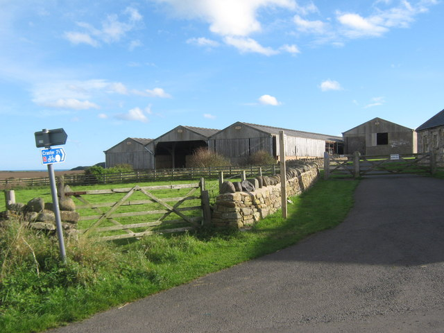Bridleway from Dunstan Steads to Dunstan Square