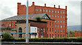 J3476 : Jennymount Mill, Belfast (3) by Albert Bridge