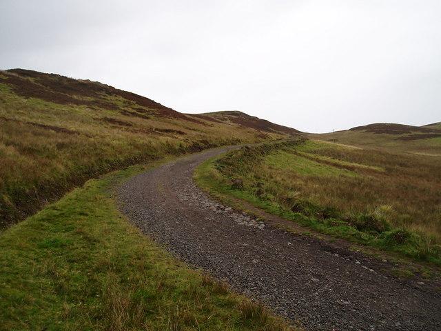 Track beside Loch Thom