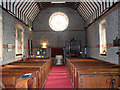 TG1439 : The church of St Helen and All Saints, West Beckham - view west by Evelyn Simak
