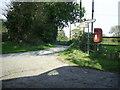 SN0421 : Rural postbox, Clarbeston by Martyn Harries